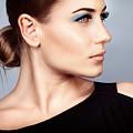 Fashion Woman Portrait by Anna Om
