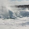 Frozen Niagara Falls by Ted Kinsman