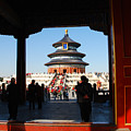 Hall For Prayer Of Good Harvest, Temple Of Heaven, Beijing, China by Kayme Clark