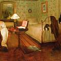 Interior  by Edgar Degas