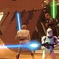 Jedi Star Wars Poster by Larry Jones
