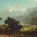 Lake Lucerne by Mountain Dreams