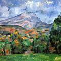 Montagne Sainte-victoire by Paul Cezanne