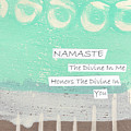 Namaste by Linda Woods
