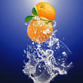 Orange Splash by Marvin Blaine