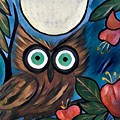 Owl Midnight by Melinda Sullivan Image and Design