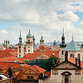 Prague Skyline Rooftop View Dome by Songquan Deng