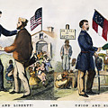 Presidential Campaign, 1864 by Granger