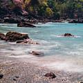 Rocky Seashore by Cara Koch