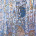 Rouen Cathedral, West Facade by Claude Monet