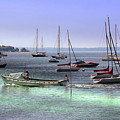 Sailboats And Yachts by Anthony Dezenzio