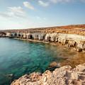 Sea Caves Ayia Napa - Cyprus by Joana Kruse