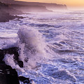 Sunset In The Portuguese Coast by Andre Goncalves