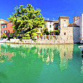 Town Of Sirmione Entrance Walls View by Brch Photography