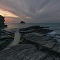 Trebarwith Strand - Cornwall by Joana Kruse