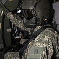 Uh-60 Black Hawk Crew Chief by Terry Moore