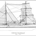 U.s. Coast Guard Cutter Northland by Jose Elias - Sofia Pereira