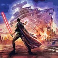 Vintage Star Wars Art by Larry Jones