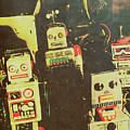 60s Cartoon Character Robots by Jorgo Photography - Wall Art Gallery