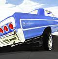 64 Impala Lowrider by MOTORVATE STUDIO Colin Tresadern