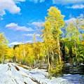 Landscape Paintings Canvas Prints Nature Art  by World Map