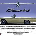 '66 Thunderbird Convertible by Douglas Pittman