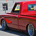 '67 Chevy C10 Awaits Green Light by Mike Martin