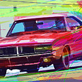 69 Dodge Charger  by David Lloyd Glover