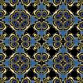 Fractal Floral Pattern by Miroslav Nemecek
