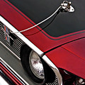 69 Mustang Hood Pin And Grille by Gill Billington