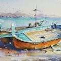 Seascape by Momin Khan