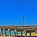 6x1 Venice Florida Beach Pier by Rolf Bertram