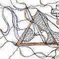 Abstract Pencil Pattern by Julia Tsvetkova