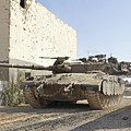 An Israel Defense Force Merkava Mark II by Ofer Zidon