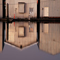 Boathouse Reflections  by Jim Corwin