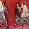 Dancers by Bill Collins