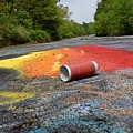 Discarded Spray Paint Can by Ben Schumin