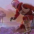 Episode 1 Star Wars Art by Larry Jones