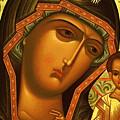 Mary And Child Art by Carol Jackson