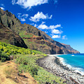 Na Pali Coast by Peter French - Printscapes