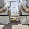 Pipes At Nesjavellir Geothermal Power by Panoramic Images