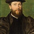 Portrait Of A Man by Corneille De Lyon