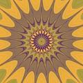 Psycho Hypno Floral Pattern by Miroslav Nemecek