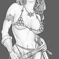 Red Sonja by Bill Richards