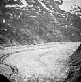 Sawyer Glacier In Tracy Arm Alaska Fjords Near Ketchikan Alaska by Alex Grichenko