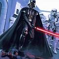 Star Wars Saga Art by Larry Jones
