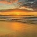 Sunrise Seascape At The Beach by Merrillie Redden