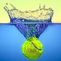 Tennis Ball by Peter Lakomy