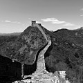 The Great Wall Of China Near Jinshanling Village, Beijing by Dave Porter
