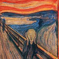 The Scream Ver 1893 Edvard Munch by Eloisa Mannion